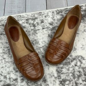 Naturalizer Kaster woven leather loafers